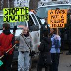 short hills protesters
