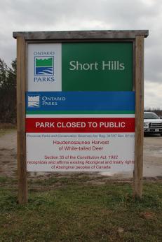 shorthills sign